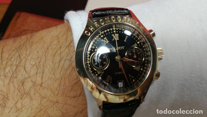 Relojes de pulsera: El mejor reloj ruso mecánico, el cronógrafo Poljot cal. 3133, años 70 y 23 rubís - Foto 58 - 186364075
