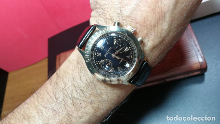 Relojes de pulsera: El mejor reloj ruso mecánico, el cronógrafo Poljot cal. 3133, años 70 y 23 rubís - Foto 59 - 186364075
