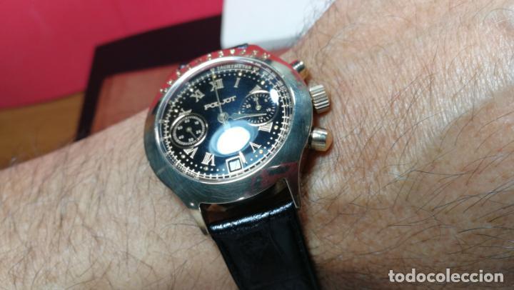 Relojes de pulsera: El mejor reloj ruso mecánico, el cronógrafo Poljot cal. 3133, años 70 y 23 rubís - Foto 60 - 186364075