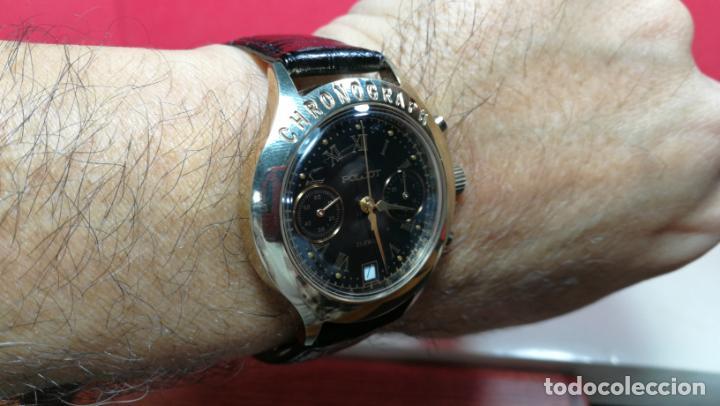 Relojes de pulsera: El mejor reloj ruso mecánico, el cronógrafo Poljot cal. 3133, años 70 y 23 rubís - Foto 61 - 186364075