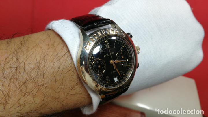 Relojes de pulsera: El mejor reloj ruso mecánico, el cronógrafo Poljot cal. 3133, años 70 y 23 rubís - Foto 62 - 186364075