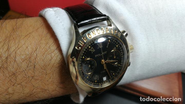 Relojes de pulsera: El mejor reloj ruso mecánico, el cronógrafo Poljot cal. 3133, años 70 y 23 rubís - Foto 63 - 186364075