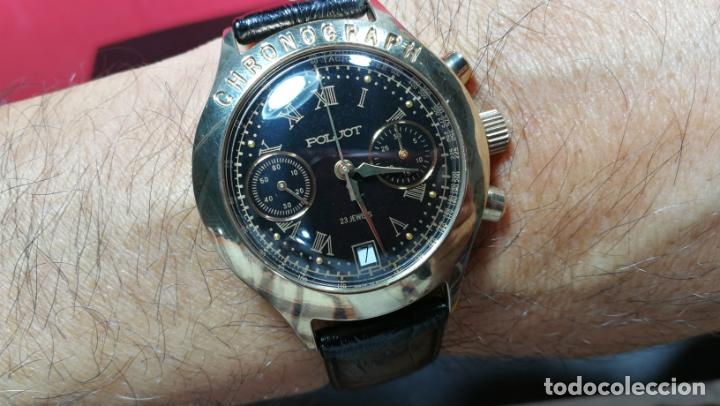Relojes de pulsera: El mejor reloj ruso mecánico, el cronógrafo Poljot cal. 3133, años 70 y 23 rubís - Foto 64 - 186364075