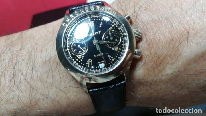 Relojes de pulsera: El mejor reloj ruso mecánico, el cronógrafo Poljot cal. 3133, años 70 y 23 rubís - Foto 65 - 186364075