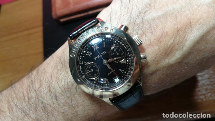 Relojes de pulsera: El mejor reloj ruso mecánico, el cronógrafo Poljot cal. 3133, años 70 y 23 rubís - Foto 66 - 186364075