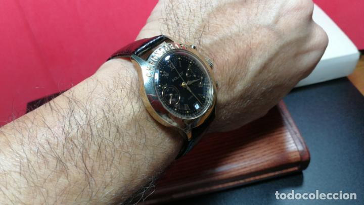 Relojes de pulsera: El mejor reloj ruso mecánico, el cronógrafo Poljot cal. 3133, años 70 y 23 rubís - Foto 67 - 186364075