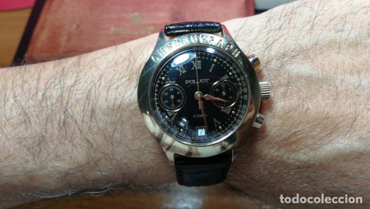 Relojes de pulsera: El mejor reloj ruso mecánico, el cronógrafo Poljot cal. 3133, años 70 y 23 rubís - Foto 68 - 186364075