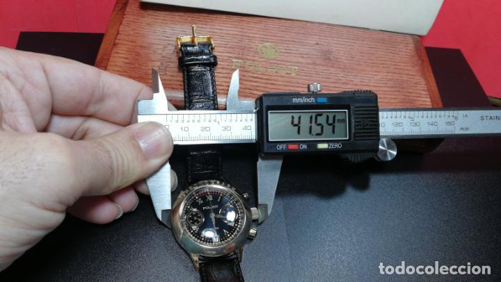 Relojes de pulsera: El mejor reloj ruso mecánico, el cronógrafo Poljot cal. 3133, años 70 y 23 rubís - Foto 70 - 186364075