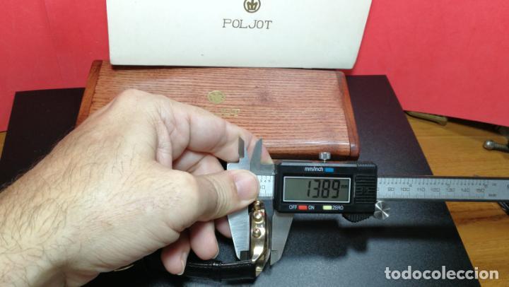 Relojes de pulsera: El mejor reloj ruso mecánico, el cronógrafo Poljot cal. 3133, años 70 y 23 rubís - Foto 72 - 186364075