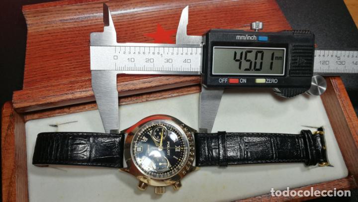 Relojes de pulsera: El mejor reloj ruso mecánico, el cronógrafo Poljot cal. 3133, años 70 y 23 rubís - Foto 73 - 186364075