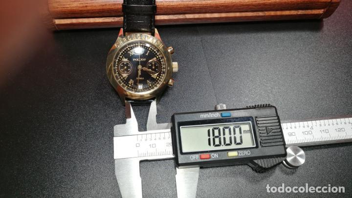 Relojes de pulsera: El mejor reloj ruso mecánico, el cronógrafo Poljot cal. 3133, años 70 y 23 rubís - Foto 74 - 186364075