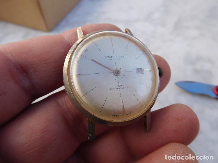 Relojes de pulsera: Reloj de carga manual marca sonny prima - Foto 2 - 187187271