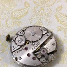 Relojes de pulsera: MAQUINARIA CALIBRE AS1130 DUWARD CARGA MANUAL. Lote 187278568