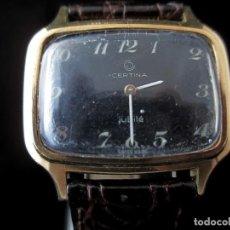 Relojes de pulsera: RELOJ CERTINA JUBILE DE DAMA A CUERDA VINTAGE . Lote 187321407