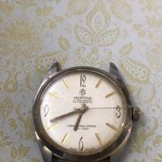 Relojes de pulsera: RELOJ MORTIMA DE LUXE ANTIMAGNETIC CARGA MANUAL VINTAGE. Lote 187328357