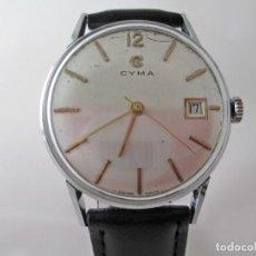 Relojes de pulsera: CLASICO RELOJ CYMA FORMAL A CUERDA CABALLERO VINTAGE . Lote 187436981