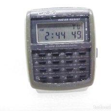 Relojes de pulsera: ORIGINAL CASIO CALCULADORA CA-506 437 FUNCIONA PERFECTAMENTE!!!!!!! LOTE WATCHES. Lote 187522251