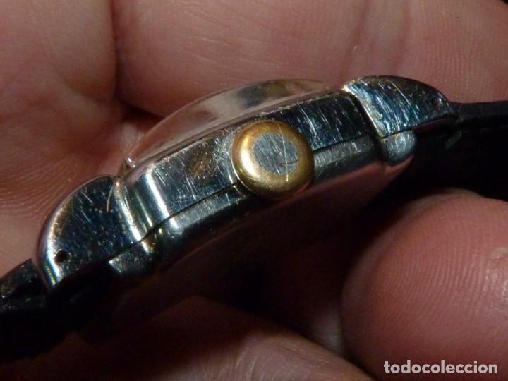 Relojes de pulsera: BELLO RELOJ ORIS CABALLERO TIPO TANK CARGA MANUAL CALIBRE 471 ART DECO AÑOS 40 SWISS MADE RARO - Foto 2 - 187524176