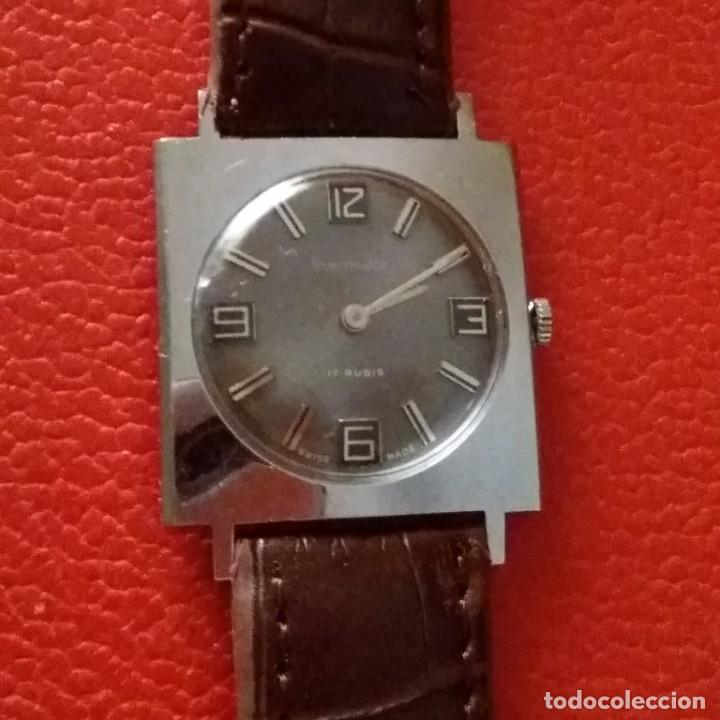 RELOJ THERMIDOR CARGA MANUAL EXTRA PLANO, COMO NUEVO. (Relojes - Pulsera Carga Manual)