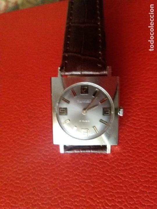 Relojes de pulsera: RELOJ THERMIDOR CARGA MANUAL EXTRA PLANO, COMO NUEVO. - Foto 3 - 187593538