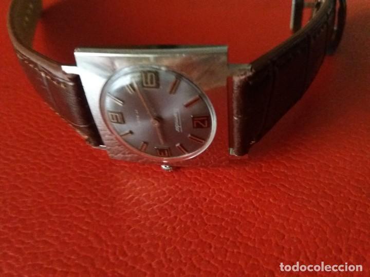 Relojes de pulsera: RELOJ THERMIDOR CARGA MANUAL EXTRA PLANO, COMO NUEVO. - Foto 4 - 187593538