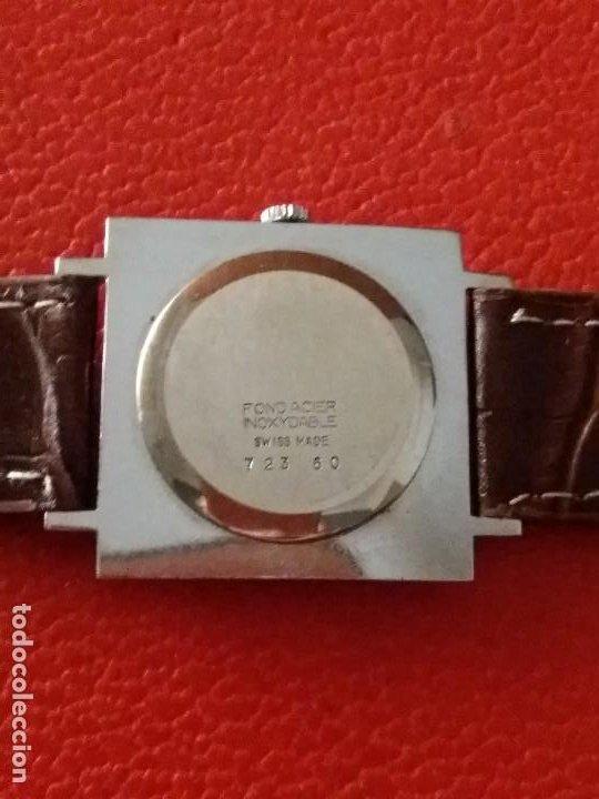 Relojes de pulsera: RELOJ THERMIDOR CARGA MANUAL EXTRA PLANO, COMO NUEVO. - Foto 6 - 187593538