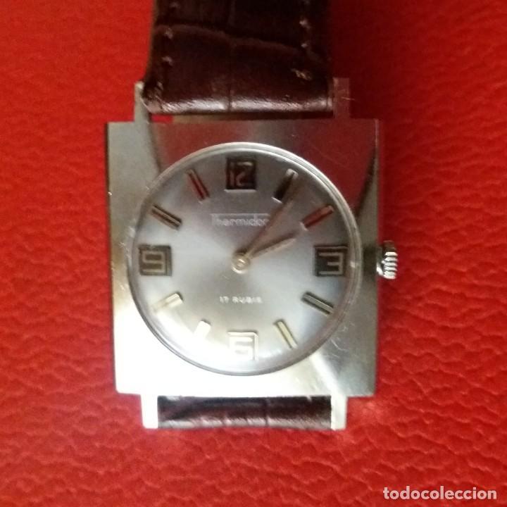 Relojes de pulsera: RELOJ THERMIDOR CARGA MANUAL EXTRA PLANO, COMO NUEVO. - Foto 2 - 187593538