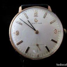 Relojes de pulsera: RELOJ CERTINA DE CABALLERO A CUERDA VINTAGE. Lote 187948185