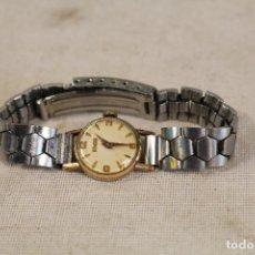 Relojes de pulsera: RELOJ SEÑORA DUWARD PLAQUE ORO. Lote 188451580