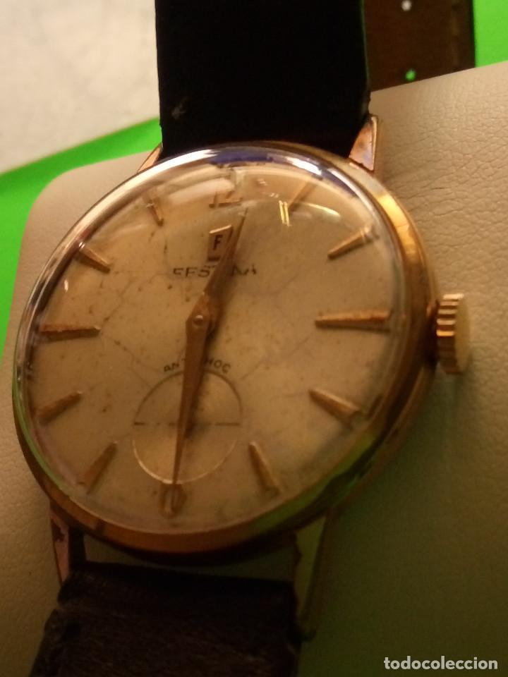Relojes de pulsera: RELOJ FESTINA. SOBRE 1.960. FUNCIONANDO. MANUAL. MEDIDAS 34 S/C. DESCRIPCION Y FOTOS. - Foto 3 - 188571028