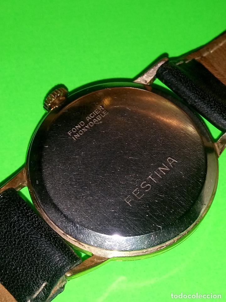 Relojes de pulsera: RELOJ FESTINA. SOBRE 1.960. FUNCIONANDO. MANUAL. MEDIDAS 34 S/C. DESCRIPCION Y FOTOS. - Foto 5 - 188571028