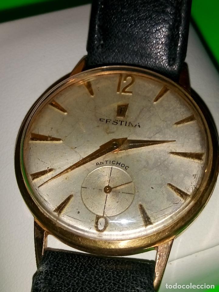 Relojes de pulsera: RELOJ FESTINA. SOBRE 1.960. FUNCIONANDO. MANUAL. MEDIDAS 34 S/C. DESCRIPCION Y FOTOS. - Foto 7 - 188571028