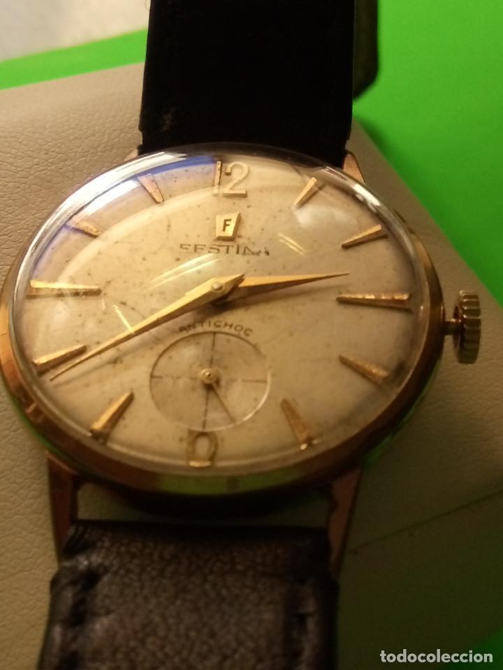 Relojes de pulsera: RELOJ FESTINA. SOBRE 1.960. FUNCIONANDO. MANUAL. MEDIDAS 34 S/C. DESCRIPCION Y FOTOS. - Foto 8 - 188571028
