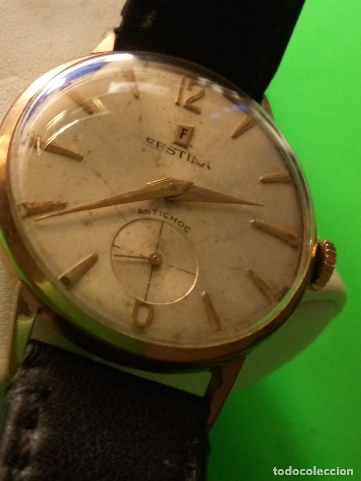 Relojes de pulsera: RELOJ FESTINA. SOBRE 1.960. FUNCIONANDO. MANUAL. MEDIDAS 34 S/C. DESCRIPCION Y FOTOS. - Foto 9 - 188571028