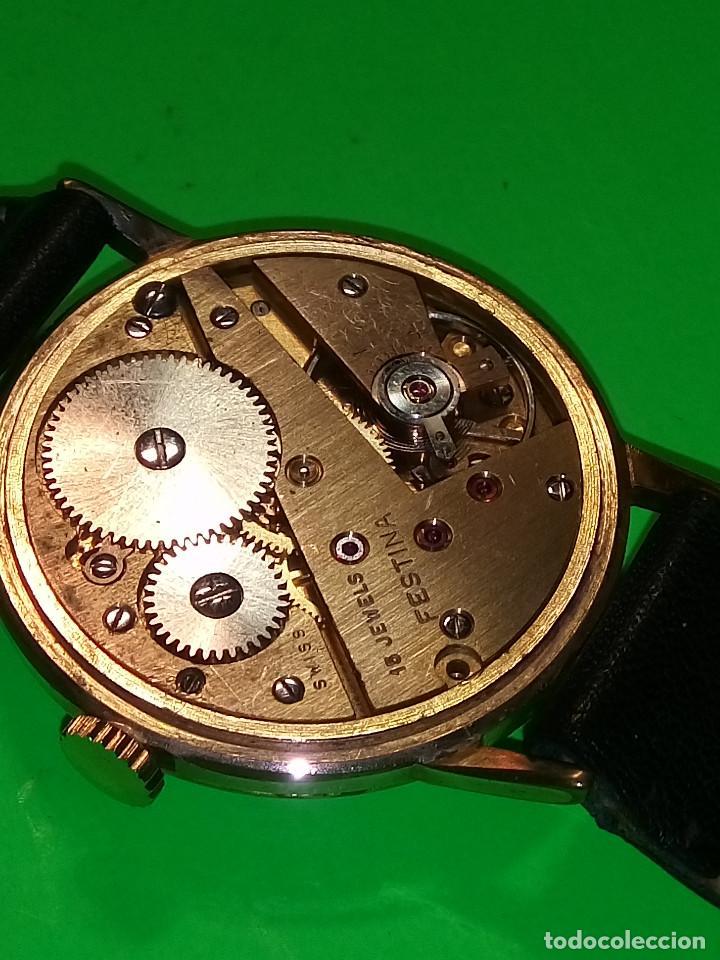 Relojes de pulsera: RELOJ FESTINA. SOBRE 1.960. FUNCIONANDO. MANUAL. MEDIDAS 34 S/C. DESCRIPCION Y FOTOS. - Foto 10 - 188571028
