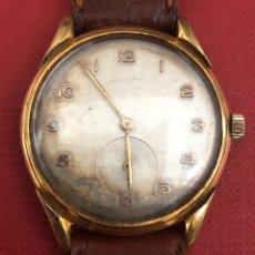 Relojes de pulsera: MAGNÍFICO RELOJ DE PULSERA DE CARGA MANUAL ZENITH. Lote 189340201