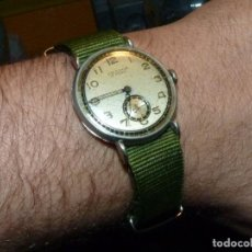 Relojes de pulsera: BELLO RELOJ MILITAR ORATOR CALIBRE AS 984 SWISS MADE 17 RUBIS AÑOS 30 COLECCION. Lote 189440900