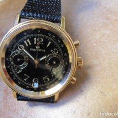 Relojes de pulsera: RELOJ CRONÓGRAFO DE CUERDA CON SISTEMA DE CALENDARIO 23 RUBIS. Lote 189471481