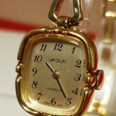 Relojes de pulsera: RELOJ VADUR DE CUERDA, SWISS MADE, VINTAGE, NOS (NEW OLD STOCK). Lote 189492726