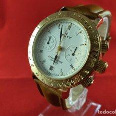 Relojes de pulsera: RELOJ CRONÓGRAFO MECANICO RUSO POLJOT AÑO 2005, RELOJ NUNCA USADO, N.O.S (NEW OLD STOCK). Lote 189611648
