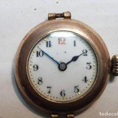 Relojes de pulsera: RELOJ GENEVA WATCH CASE CO ESFERA PORCELANA . Lote 189672410