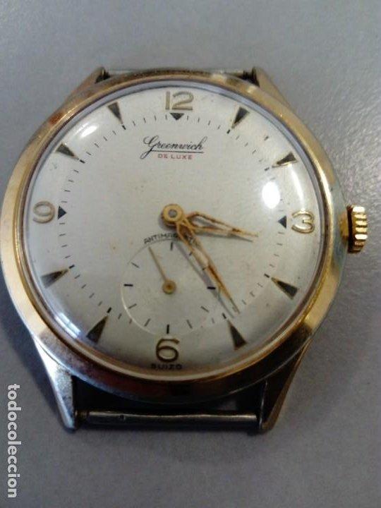 BONITO Y ORIGINAL RELOJ GREENWICH DE LUXE (Relojes - Pulsera Carga Manual)