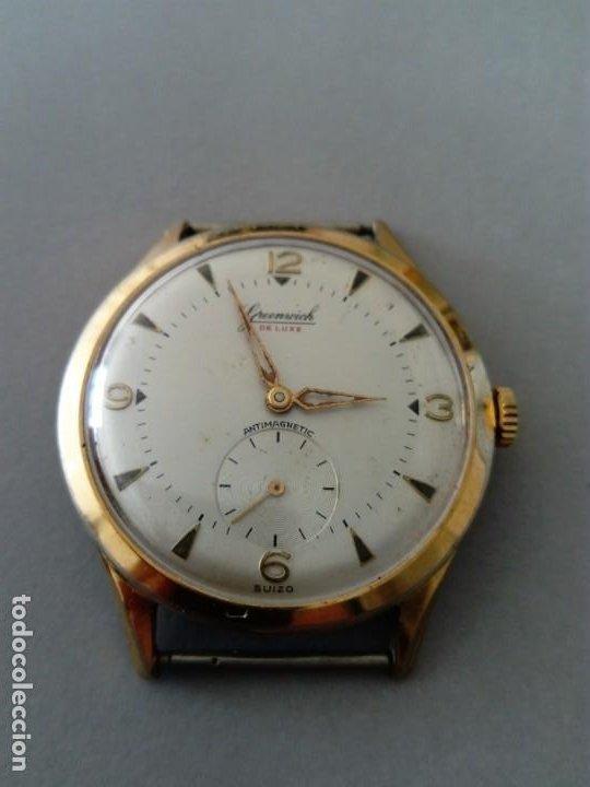 Relojes de pulsera: Bonito y original Reloj Greenwich de Luxe - Foto 2 - 189677903