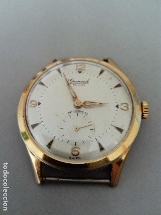 Relojes de pulsera: Bonito y original Reloj Greenwich de Luxe - Foto 3 - 189677903