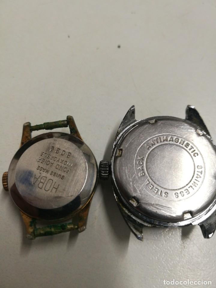 Relojes de pulsera: Cuatro relojes entre los años 30 y 70 caballero y dama - Foto 8 - 189831346