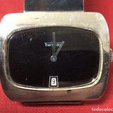 Relojes de pulsera: MAGNÍFICO RELOJ DE PLATA, DE PULSERA, THERMIDOR.. Lote 190551926