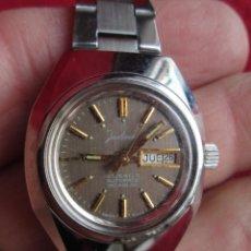 Relojes de pulsera: RELOJ DE PULSERA JUSTINA CARGA MANUAL - FUNCIONANDO - SUIZO. Lote 190815272