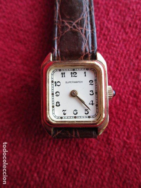 RELOJ DE PULSERA SUPERWACH CARGA MANUAL - FUNCIONANDO - (Relojes - Pulsera Carga Manual)