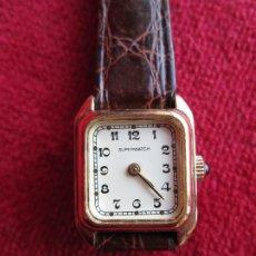 Relojes de pulsera: RELOJ DE PULSERA SUPERWACH CARGA MANUAL - FUNCIONANDO -. Lote 190815671