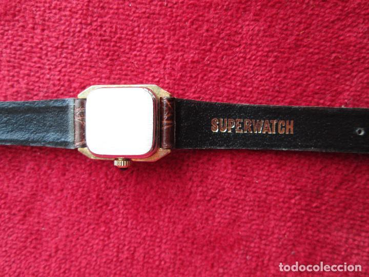 Relojes de pulsera: RELOJ DE PULSERA SUPERWACH CARGA MANUAL - FUNCIONANDO - - Foto 4 - 190815671